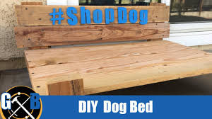 make a diy dog platform bed from upcycled materials build youtube