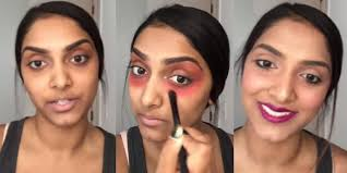 how to cover dark circles under eyes with makeup use a red lipstick as concealer huffpost uk
