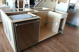 install kitchen island base cabinets hack how we built our