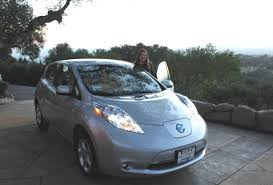 nissan leaf grey the wait for a commercial electric car is over u2013 the first nissan