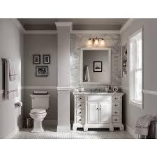 Bathroom Single Sink Vanities by Shop Allen Roth Vanover White Undermount Single Sink Bathroom