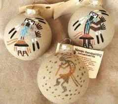 navajo sand painted southwest ornament