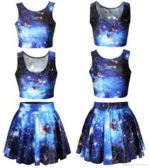 Half Of The United States Europe And The United States Fashion 3d Star Suit Skirt