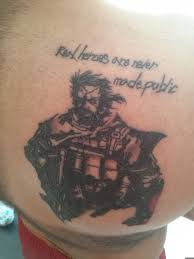 metal gear solid v punished snake tattoo by kobes89 on deviantart