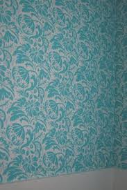 d i y removable fabric wallpaper make cornstarch paste or use