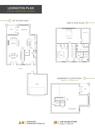 Waterfront Floor Plans by Patchen Wilkes Townhomes U2014 Andover Construction