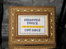 free subversive cross stitch pattern measure 2x cut 1x how tos