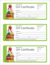 free printable holiday gift certificates amitdhull co