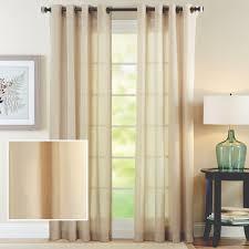 better homes and gardens semi sheer window curtain walmart com