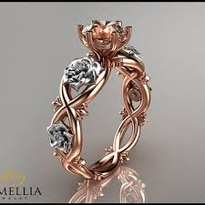 rose promise rings images Best morganite jewelry rose gold 14k products on wanelo jpg