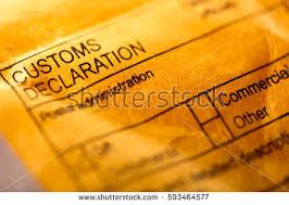 customs declaration stock images royalty free images u0026 vectors