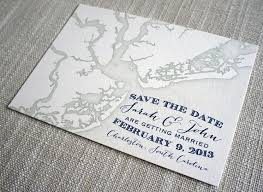 nautical save the date nautical charleston map save the date scotti cline designs