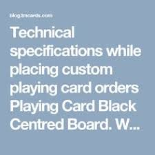 tmcards custom playing cards manufacturing company offered service