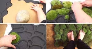 Moss Bath Rug Cute Diy Projects