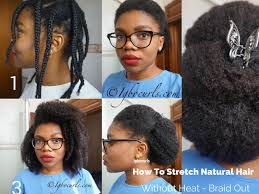 braid out natural hair how to stretch natural hair without heat braid out bellafricana