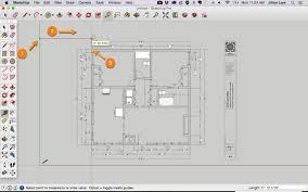 sketchup floor plan draw a floor plan in sketchup from a pdf tutorial
