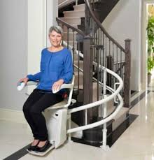 savaria stairfriend curved stair lift 101 mobility