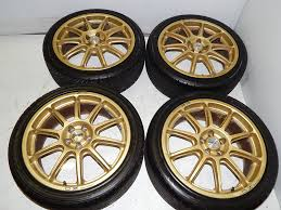 subaru prodrive oz racing by prodrive 18x7 5 jj 46 5x100 j spec auto sports
