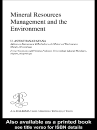 mineral resources management and the enviroment mining coal