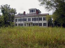 Plantation Style House by Rosemount Plantation Forkland Green County Alabama 1832 And