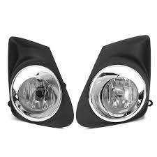 2011 toyota corolla brake light bulb 1pair car fog l frame w h11 light bulb switch wire harness for