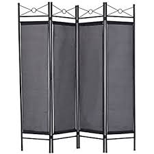 White Room Divider Screen Amazon Com Giantex 4 Panel Room Divider Privacy Screen Home