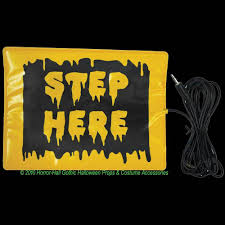 step here pad switch accessory activates animated animatronic