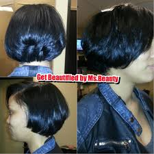 roller wrap hairstyle roller wrap sets start at 55 layered bob cut yelp