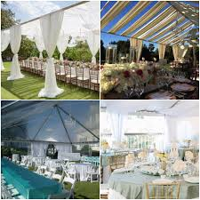 white tent rentals orange county events wedding lighting decor draping with