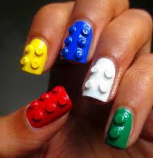 vernis à ongles les legos façon nail art 3d manucure shōko