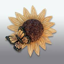 sunflower butterfly cremation urn sculpture the grief toolbox