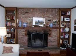 design brick with built ins fr living room inspiration brick brick