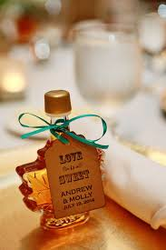 maple syrup wedding favors maple syrup wedding favor