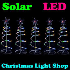 outdoor spiral christmas trees christmas lights decoration