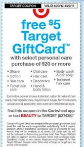target black friday shaver coupon 5 20 target personal care gift card deal free schick