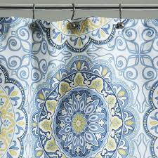 Paisley Shower Curtain Blue by Shower Curtains
