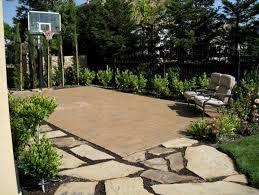 Backyard Pool And Basketball Court Indoor Outdoor Basketball Courts Elizabeth Erin Designs