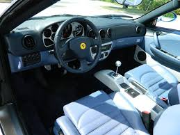 Ferrari 458 Manual - 2001 ferrari 360 spider convertible hollywood wheels auctions