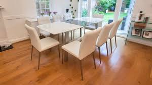 Grey Extendable Dining Table Assi White And Grey And Moda Set Uk
