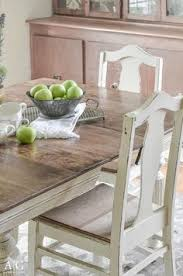 Antique Dining Room Table by Antique Dining Table Updated With Chalk Paint Antique Dining