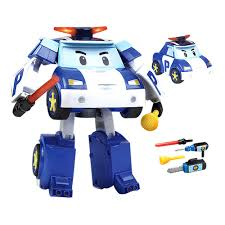 robocar poli deluxe model transformer toy special edition poli
