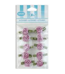 offray accessories offray small ribbon roses ribbon accessory joann