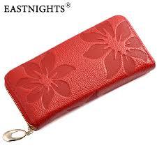 leather women s wallet pattern eastnights 2018 new designer genuine leather women s wallet flower