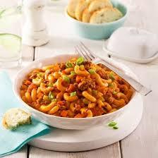 foodies recette cuisine macaroni crémeux à la viande recettes cuisine et nutrition