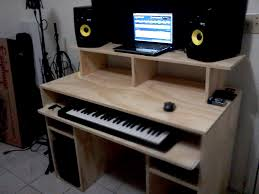 recording studio desk home interior design