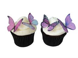 edible wedding cake decorations wedding cake topper edible butterflies in 24 prettiest purple