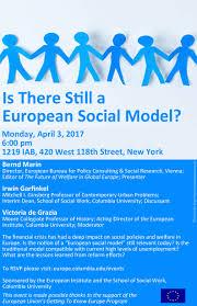 bureau social european institute seminar 3rd april 2017 columbia ny