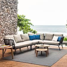 canape d exterieur un canapé d extérieur d angle oasiq dehors outdoor