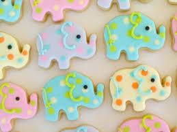 elephant mini sugar cookies cookies pinterest sugar cookies