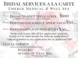wedding makeup packages bridal